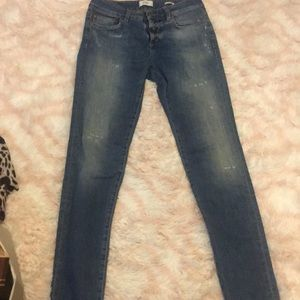 CLOSED Distressed denim skinny size 25 Euro